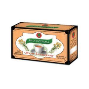 Чай жълт кантарион БИОПРОГРАМА RodinaSop Българския Онлайн Магазин в Германия