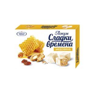 Локум ГОРНА ОРЯХОВИЦА 130 гр медовина RodinaShop Българския Магазин в Германия