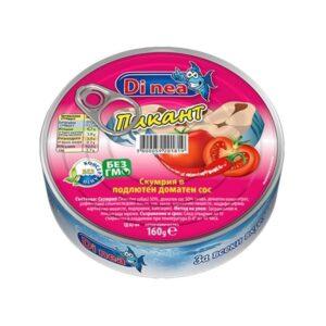 Скумрия ДИ НИА 160гр подлютен доматен сос RodinaShop Българския Онлайн Магазин в Германия