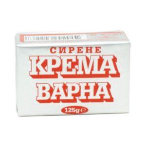 Крема сирене ВАРНА ХРАНИНВЕСТ 125гр RodinaShop Българския Магазин в Германия