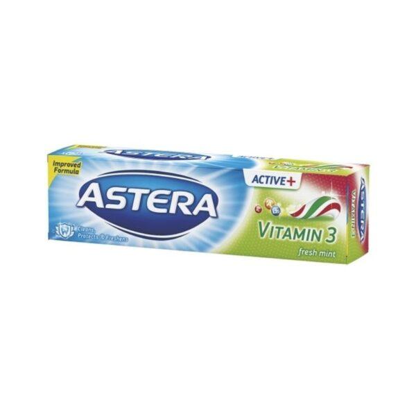 Паста за зъби АСТЕРА АКТИВ 100мл витамин 3 RodinaShop Българския Магазин в Германия