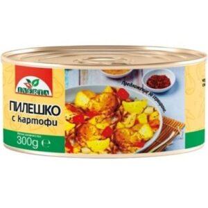 Пиле с картофи 0,300кг ИВЕРТА от Rodinashop.de Български магазин в Германия